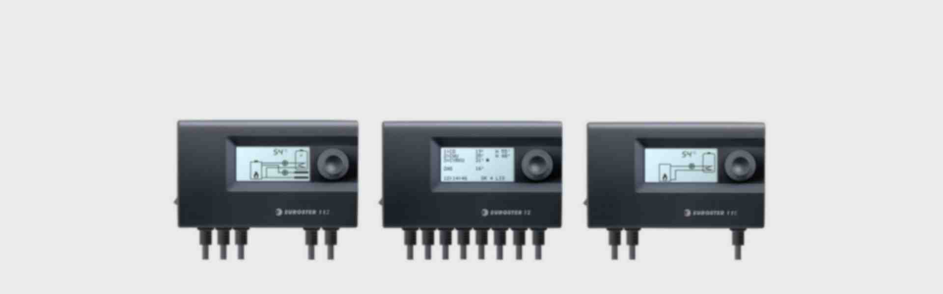 DHW pump controllers